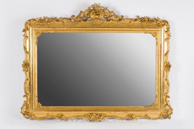 Espelho de parede romântico