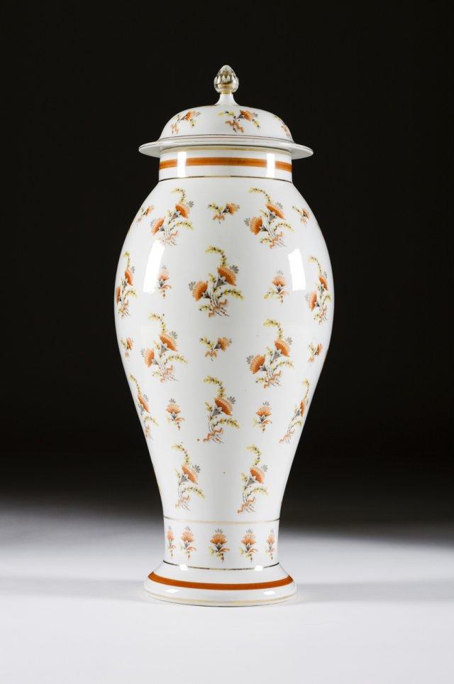 A Vista Alegre baluster vase