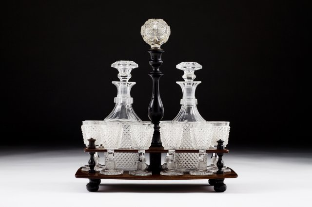 A 19th century french liquor set