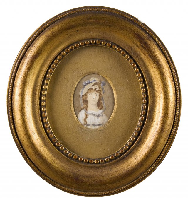 Ivory miniature