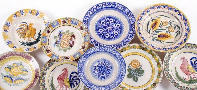 Portuguese faience dish