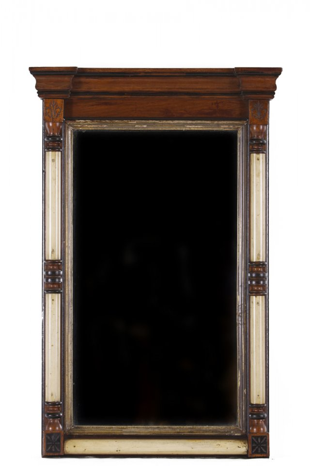 A George IV style wall mirror