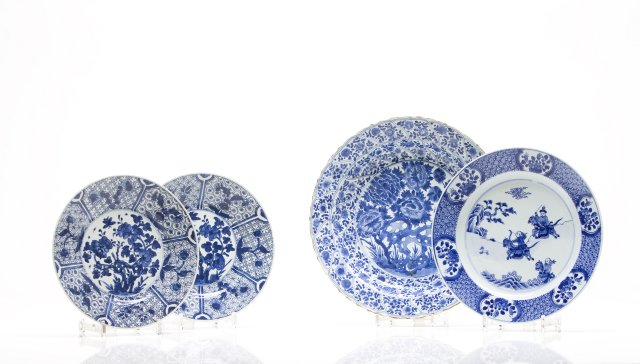 Large pair of dishes