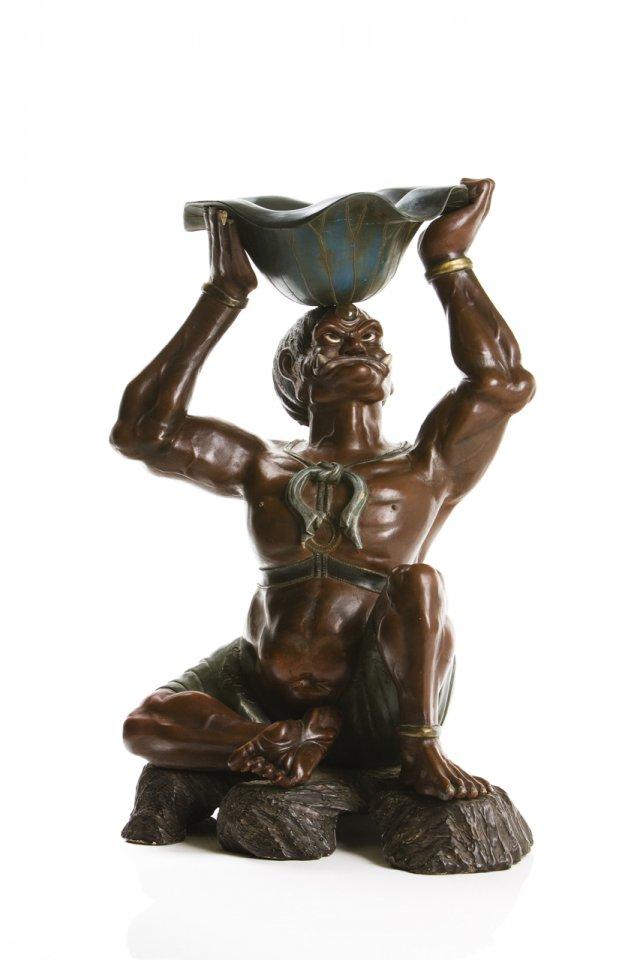 Figura da Guarda Nio Rikishi Kongo