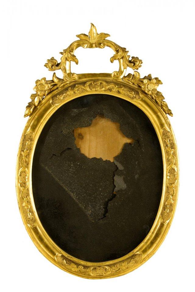 Espelho de parede oval