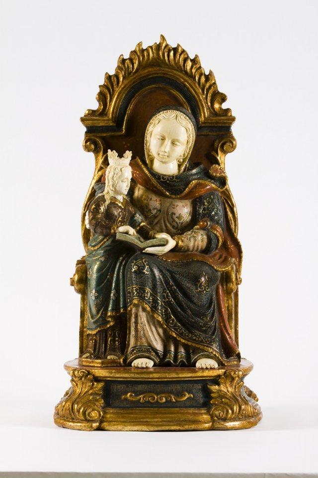 Santa Ana ensinando a Nossa Senhora a ler