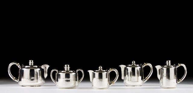 Serviço de chá e de café