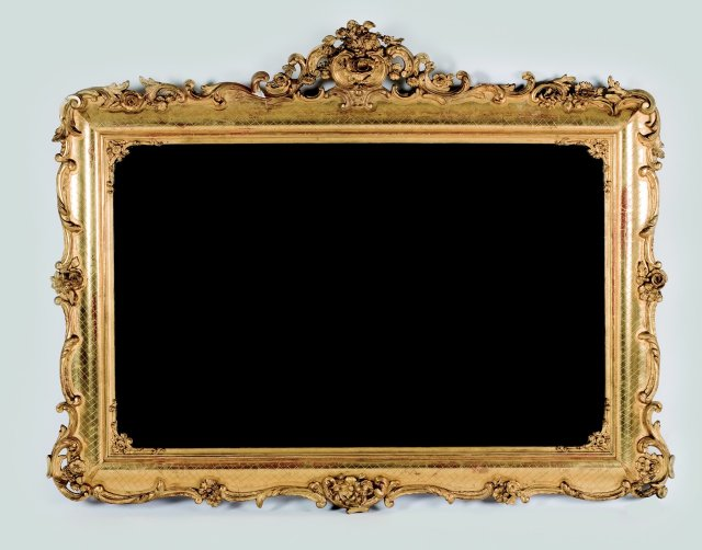 A romantic wall mirror