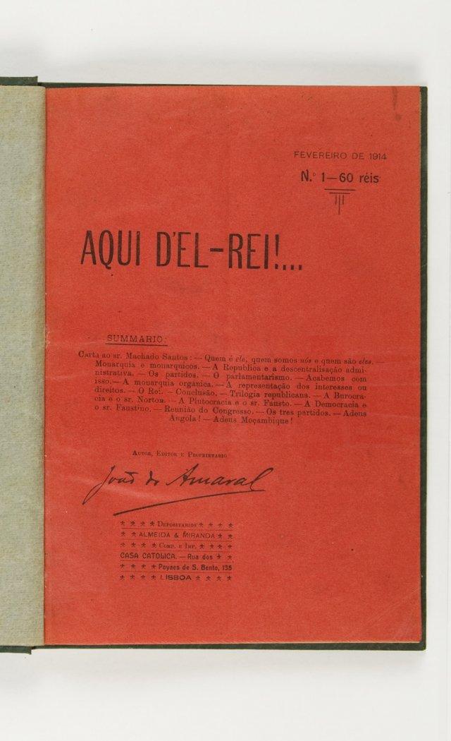[AMARAL, João Mendes da Costa, 1893-1981, (dir.)]
