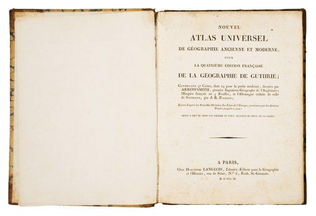 ARROWSMITH, Aron, 1750-1823 ; POIRSON, Jean Baptiste, 1761- 1831