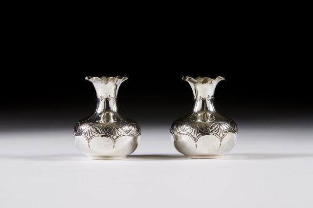Par de jarras de pequenas dimensões