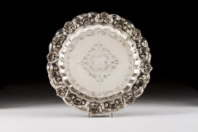 Large Silver Salver