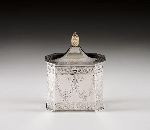 Caixa para chá estilo D. Maria