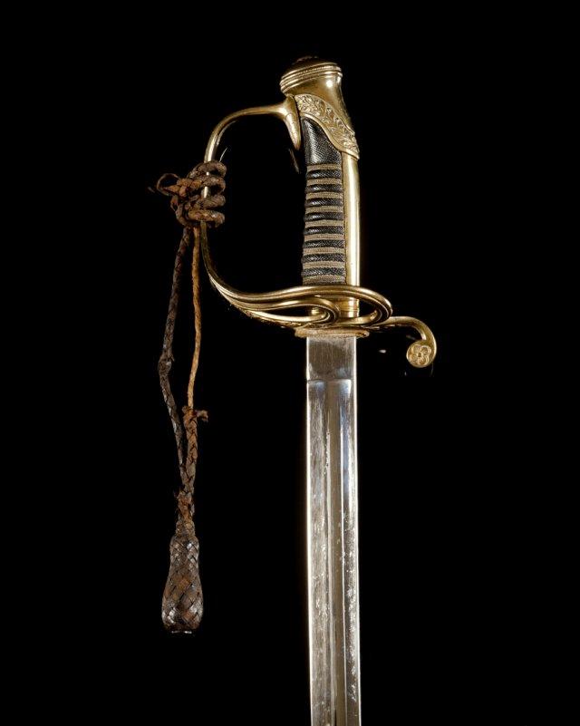 A Portuguese sabre, late 19th century