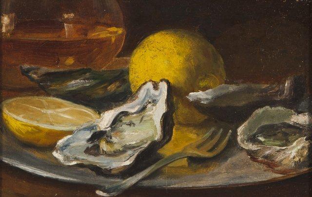 Natureza morta com ostras