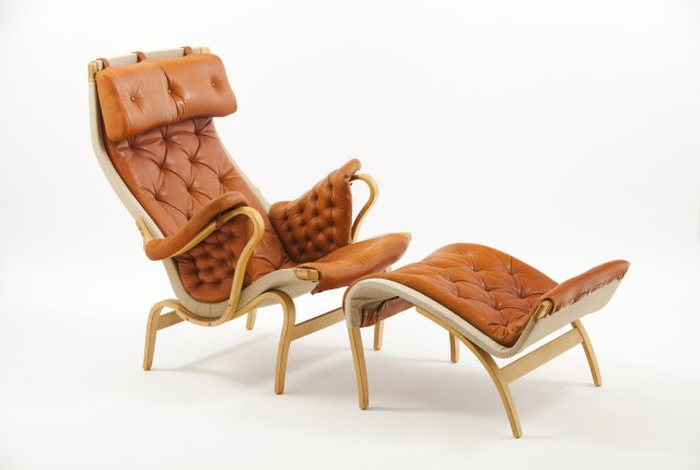 Pernilla chair and ottoman (1941)