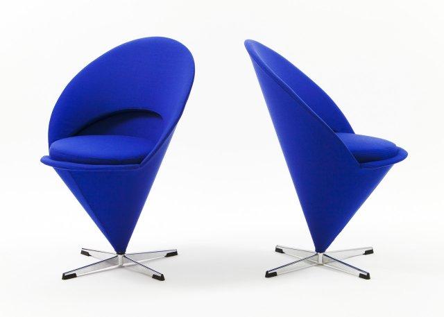 Par de cadeiras Cone (1958)