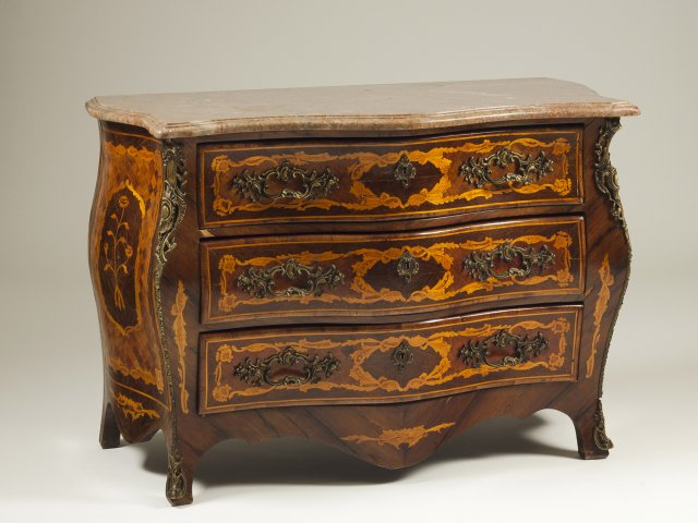 A Regency style commode