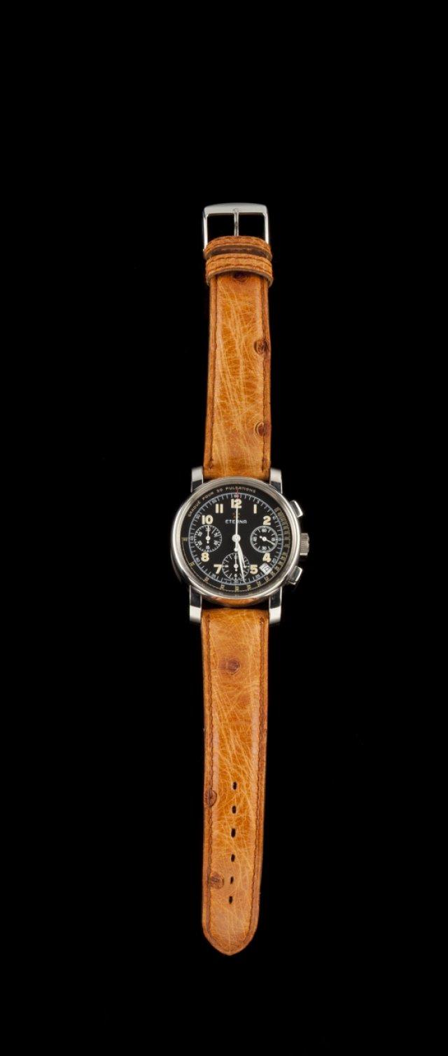 Relógio de pulso ETERNA PUSOMÈTRE CHRONOGRAPHE Nº100