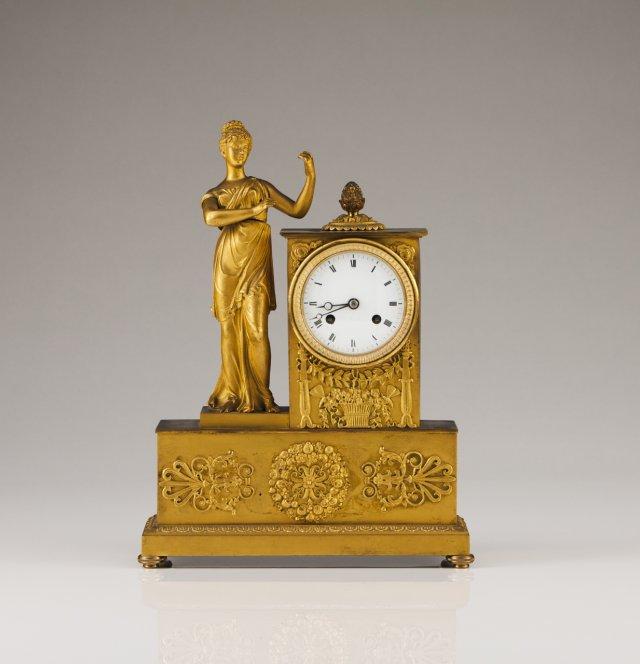 Relógio de mesa francês do séc.XIX