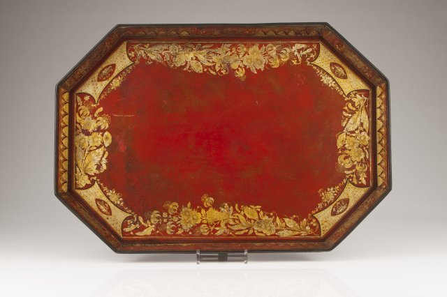 A 19th century Chinese tray