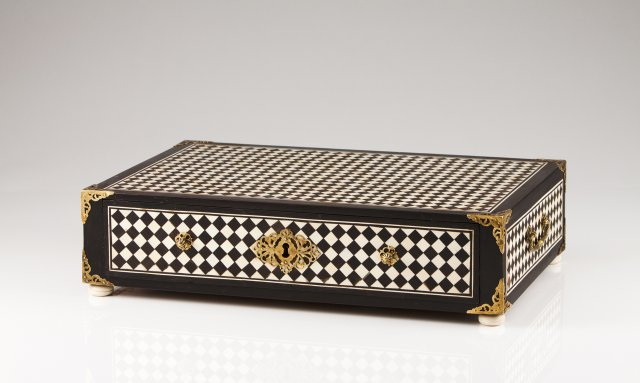 A late 17th, early 18th century Indo-Portuguese drawer