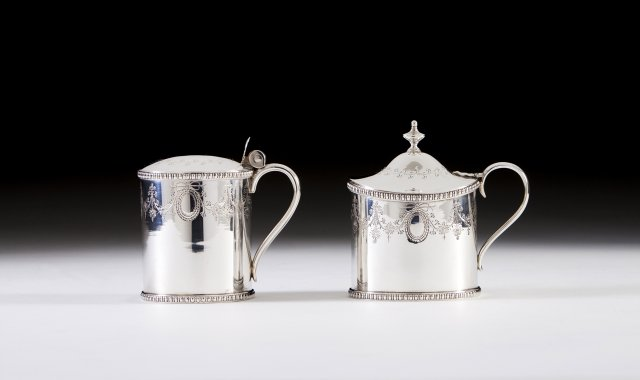 A Portuguese silver mug in the D.Maria (1777-1816) manner