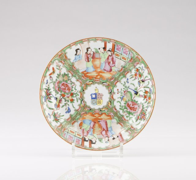 A Xianfeng Armorial plate