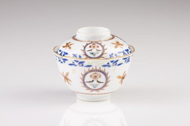 A Qianlong scalloped bowl