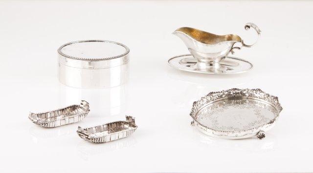 A Portuguese silver box