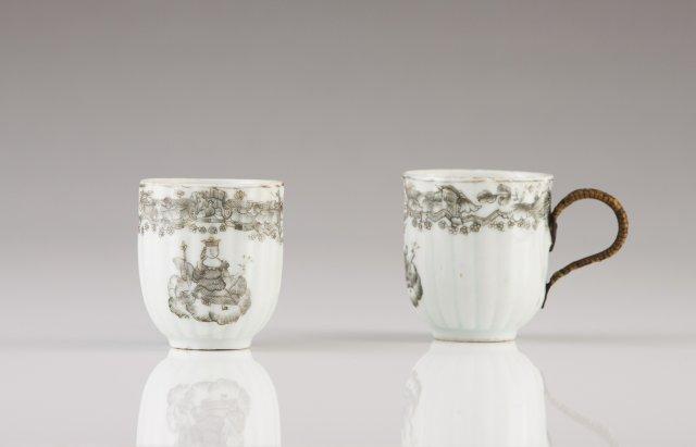 Two Qianlong cups