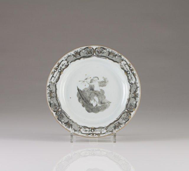 "A Qianlong plate, Jupiter Service""Chinese export porcelain"