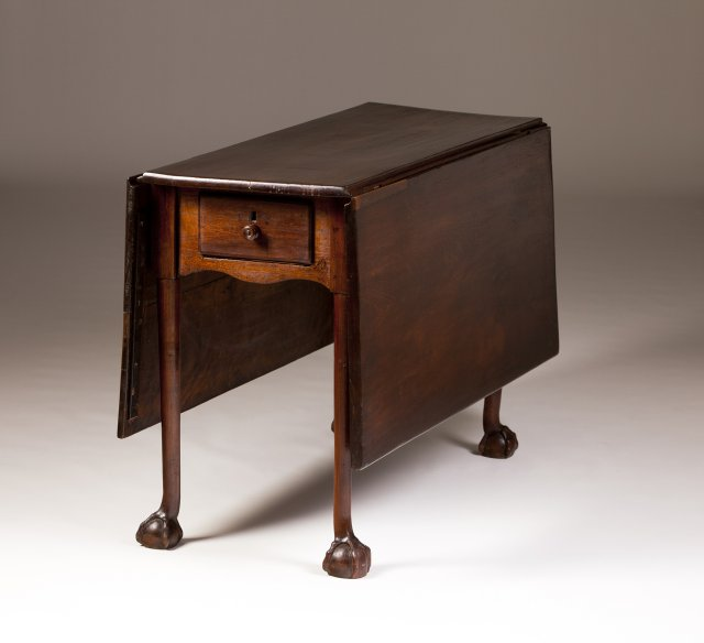 A 19th century Portuguese Brazilian-mahogany table
