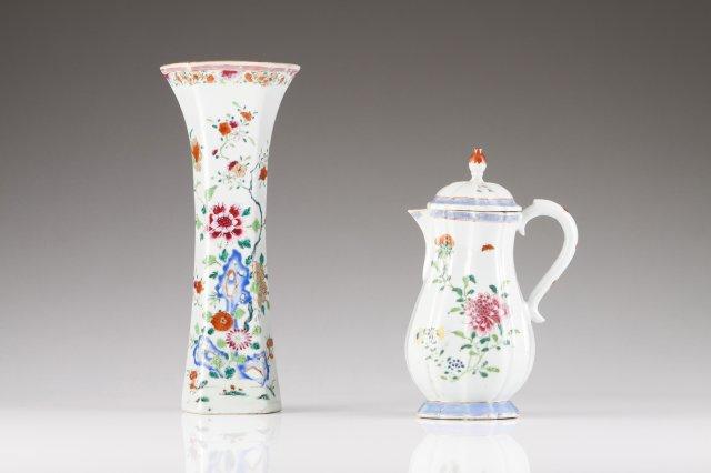 A Qianlong beaker vase