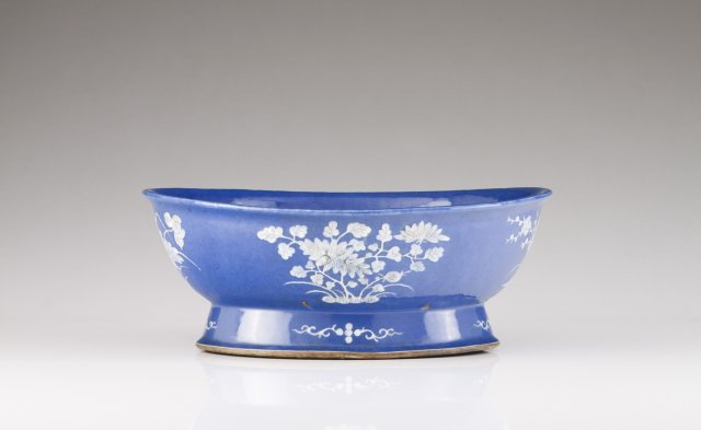 A large Powder-Blue bowl