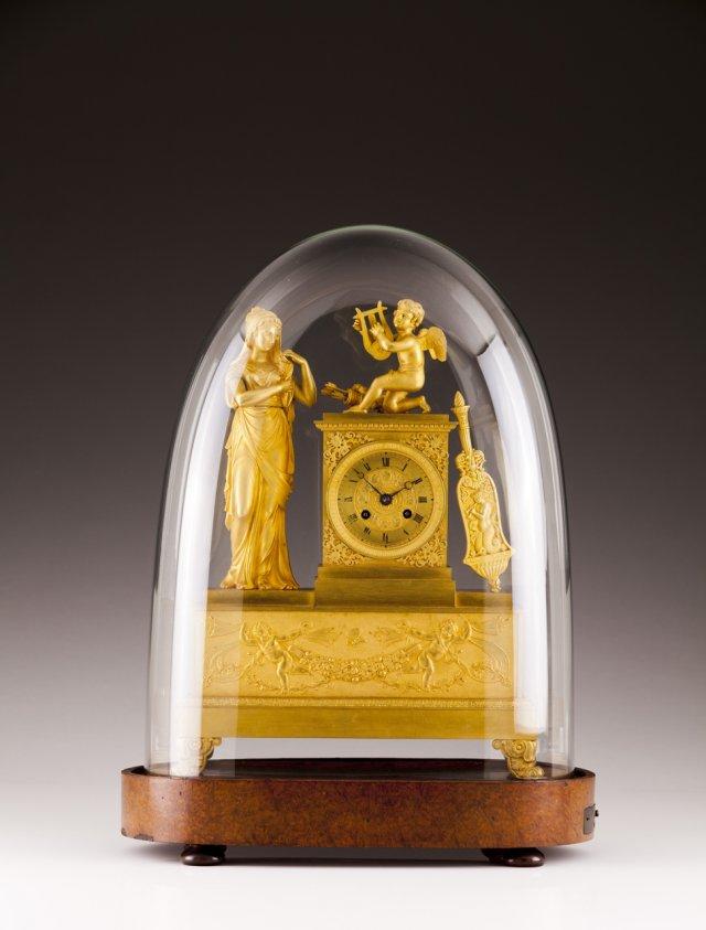 Importante relógio de mesa Carlos X com mecanismo musical, E. LECOULTRE