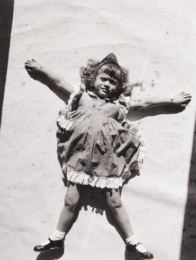 Maria Manuel daughter of Victor Palla, 1951