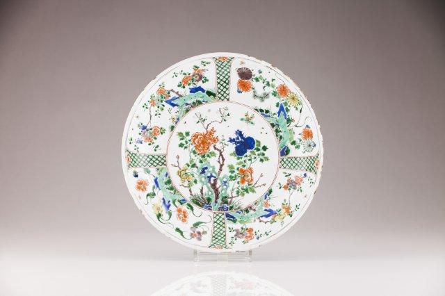 A large Kangxi plate