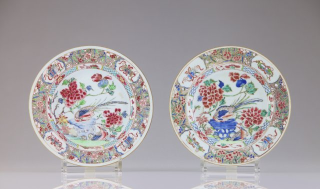 A pair of Yongzheng plates