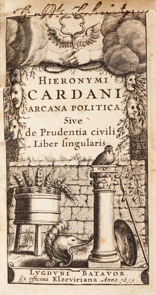 CARDANO, Girolamo, 1501-1576