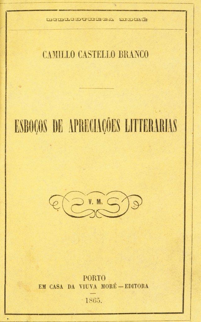 CASTELO-BRANCO, Camilo, 1825-1890