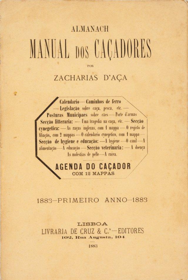 AÇA, Zacharias de, 1839-1908