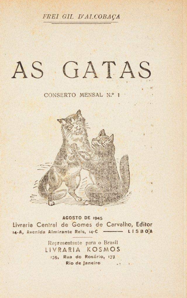 ALCOBAÇA, Frei Gil de, (pseud. de João Paulo Freire 1885-1953)