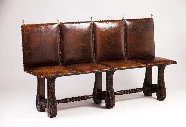 A 19th century Portuguese bench