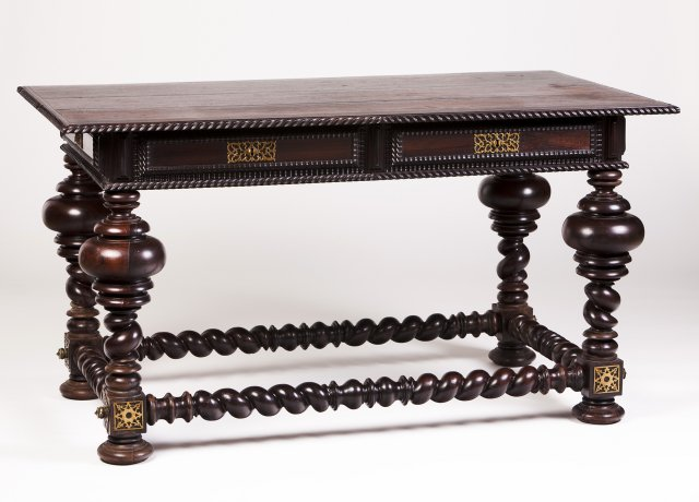 "A Rosewood ""bufete"" table"