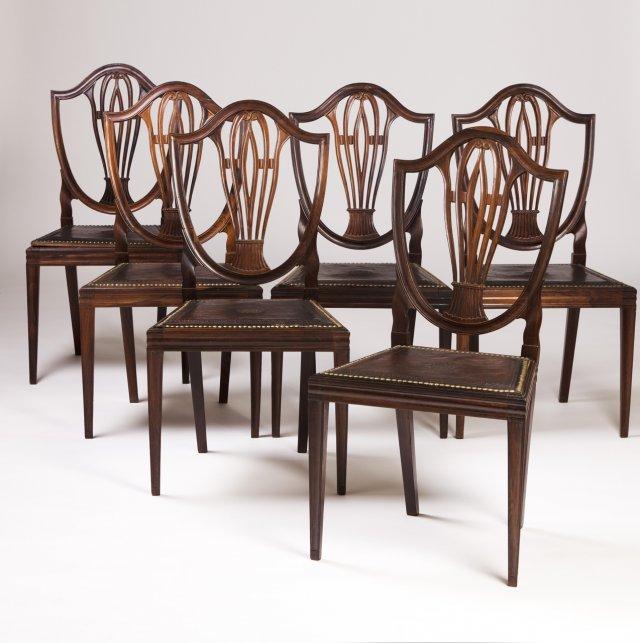 Conjunto de seis cadeiras D. Maria