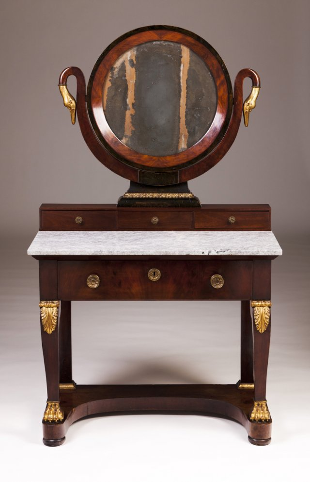 An Empire dressing-table