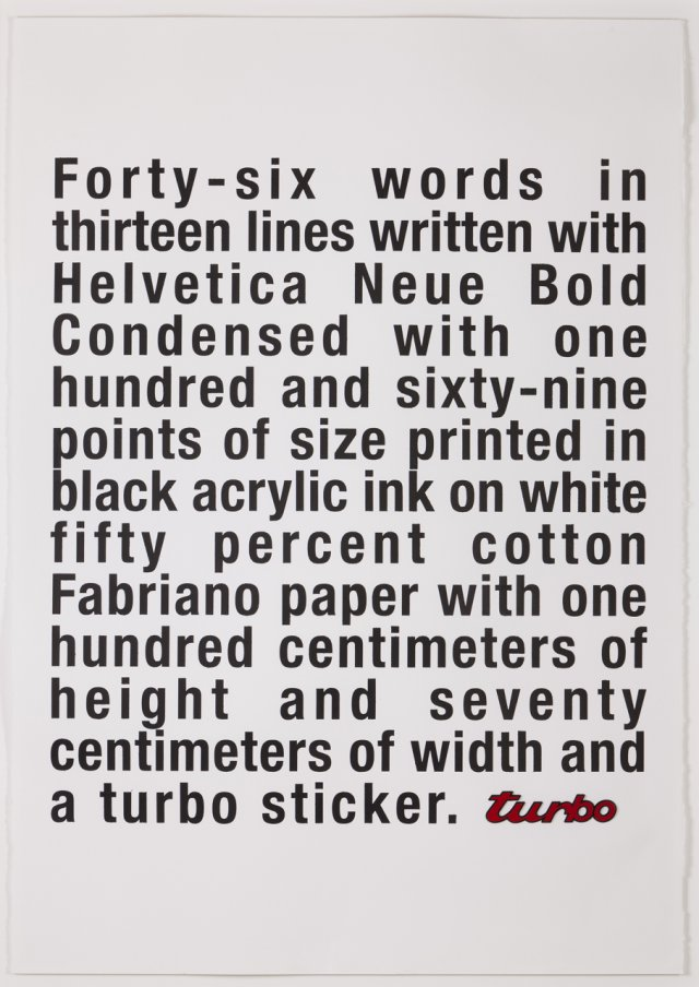 Five words in a line (Turbo Extended Version), 2006
