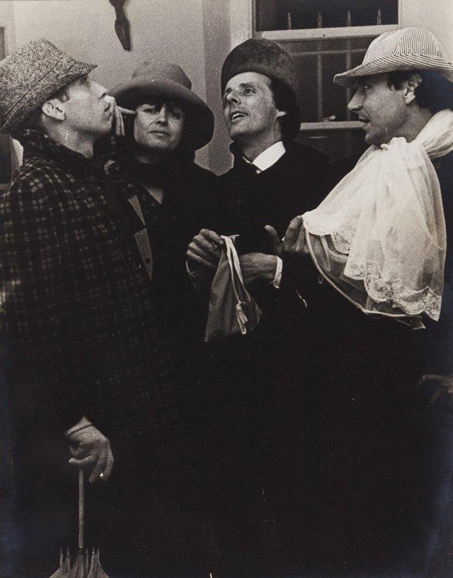 """Na Festa do Bolseiro, atelier de João Cutileiro, Londres, 1965"""""""