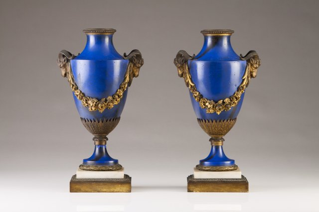 A pair of Neoclassical urns